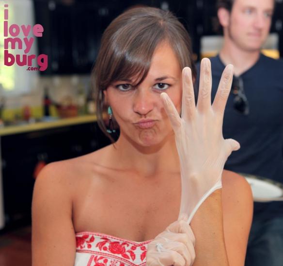 cake i love my burg