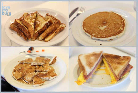 L&S diner collage