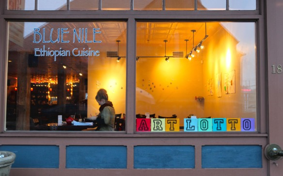 blue nile window