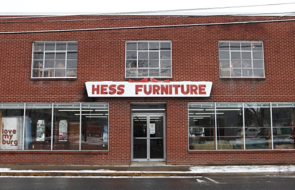 Hess Furniture store front