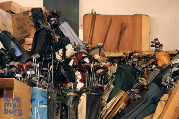 Hess Furniture golf clubs