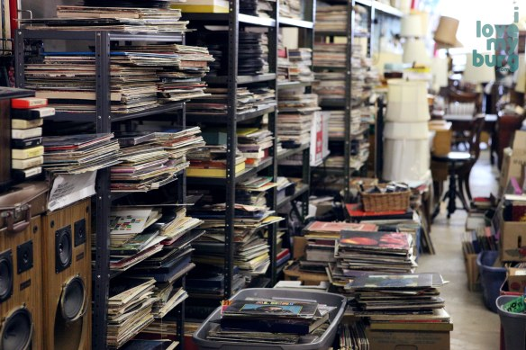 Hess Furniture stacks of album