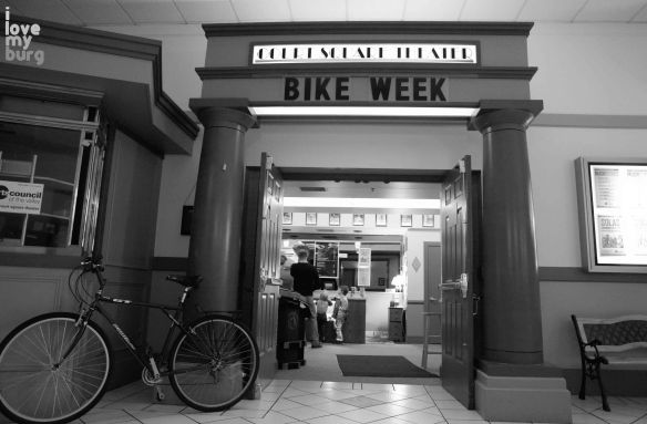 Bike Week theater 1
