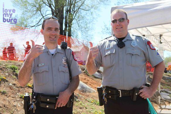 Rocktown Beer fest officers