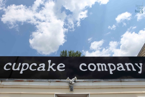 sign out front of bakery