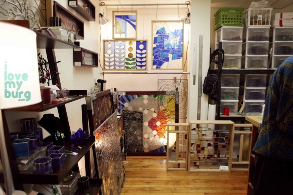 stained glass studio