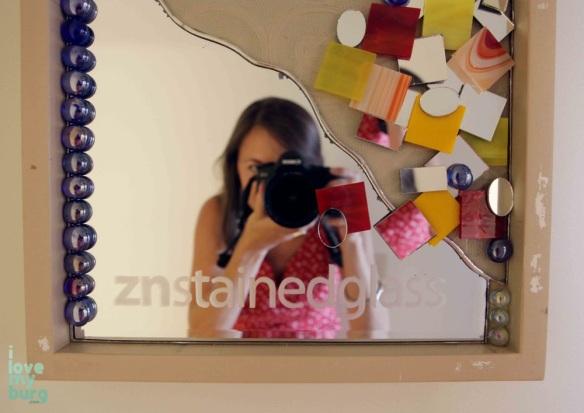 mirror with photographer