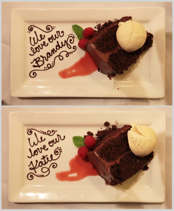 birthday cake plates