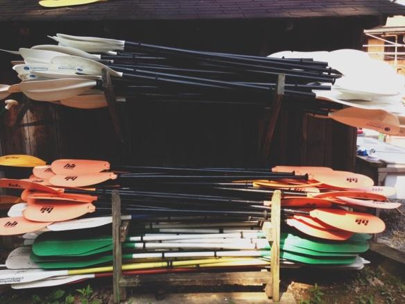 canoe oars
