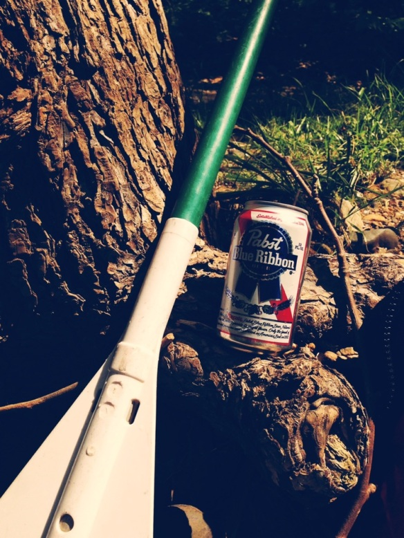 oar and beer