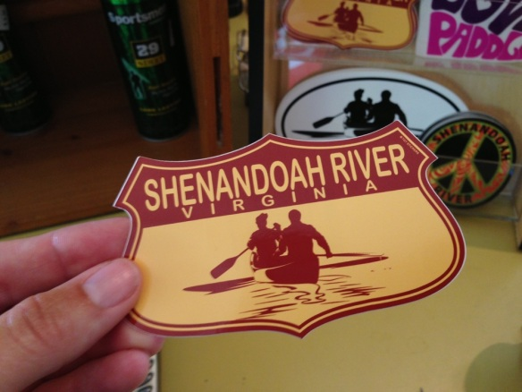 Shenandoah River sticker