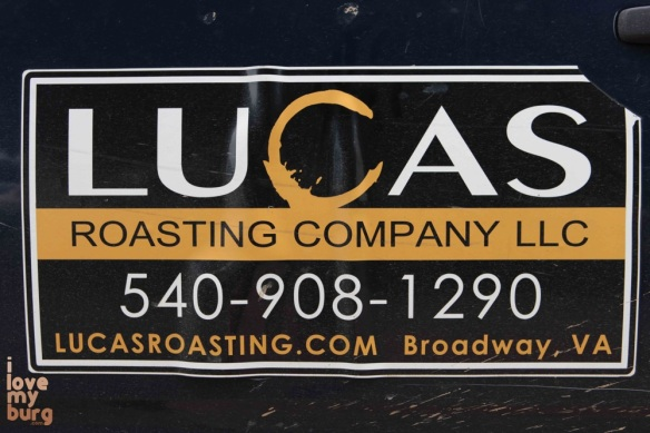 lucas roasting company sign