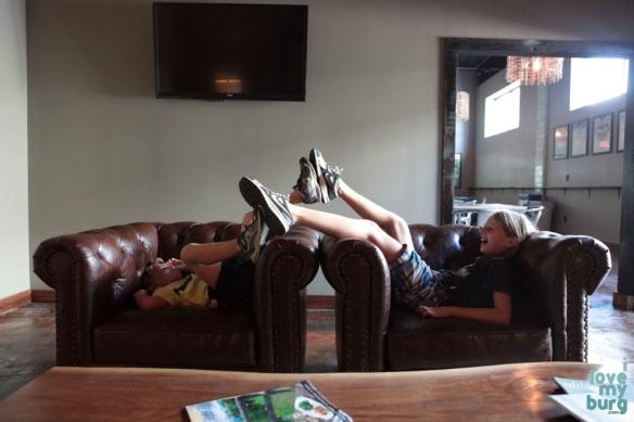 three brothers brewing kids feet
