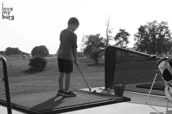 first tee harrisonburg range bw
