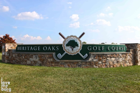 heritage oaks sign