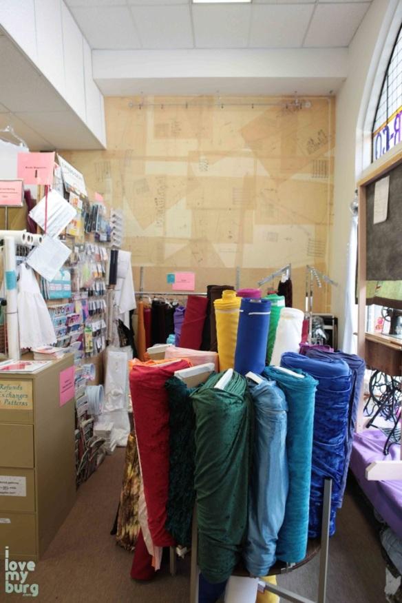 ragtime fabrics store