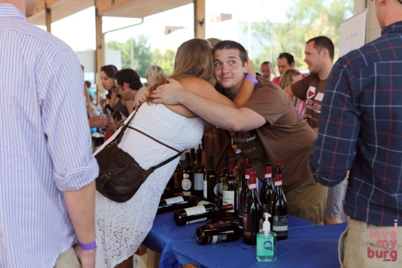 rocktown wine and dine hugs