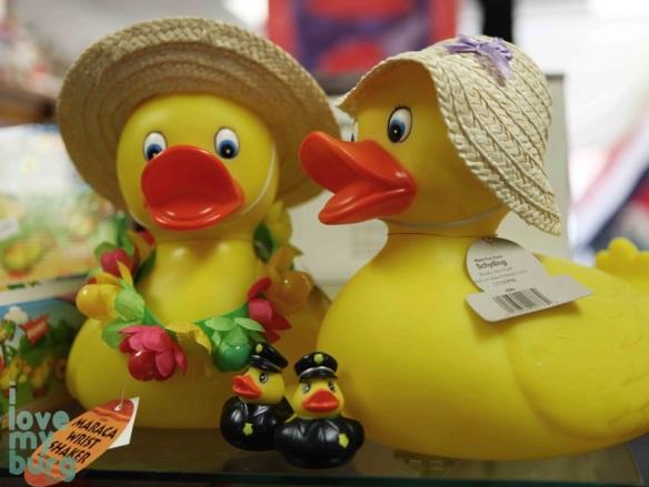 Glen's Fair Price ducks