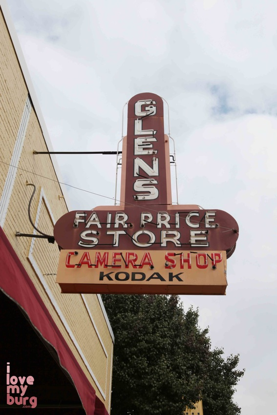Glen's Fair Price sign