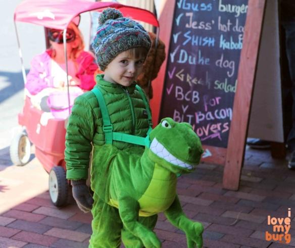 Halloween cute t_rex