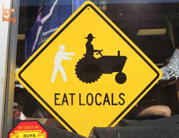 Halloween eat locals