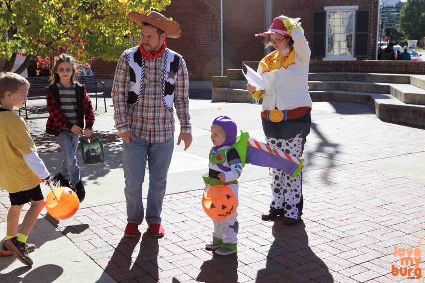 Halloween Toy Story family