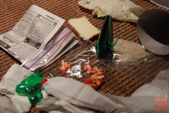 rocky horror picture show bag contents