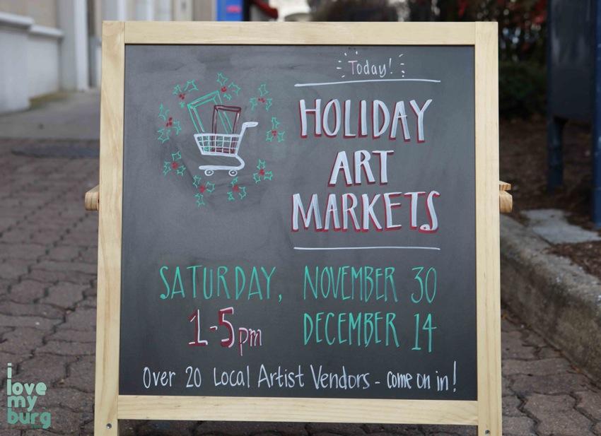 Art Market sign