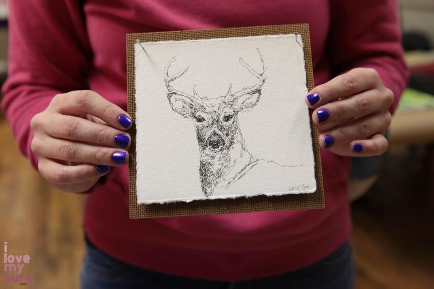 Mary Yoder deer