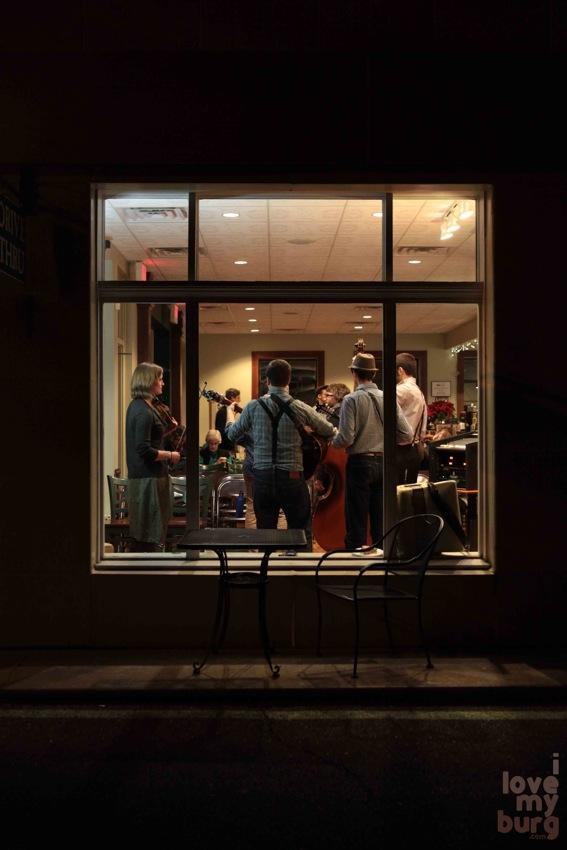 walking roots band window
