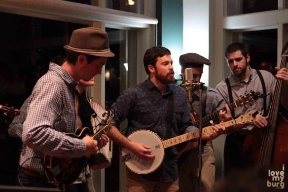 the walking roots band banjo