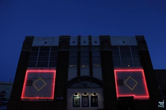 Court Square Theater night