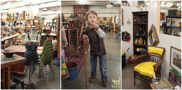 factory antique mall furniture