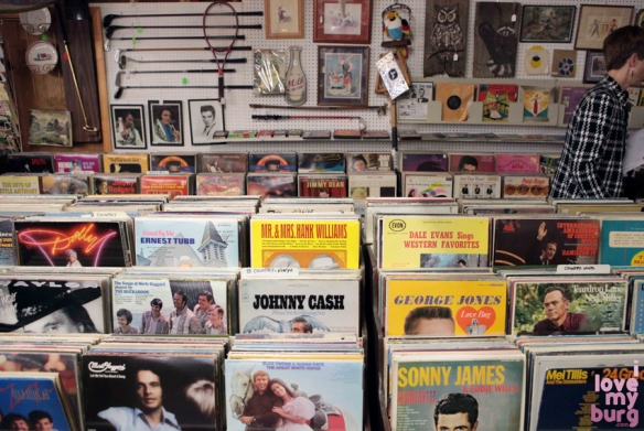 factory antique mall records2