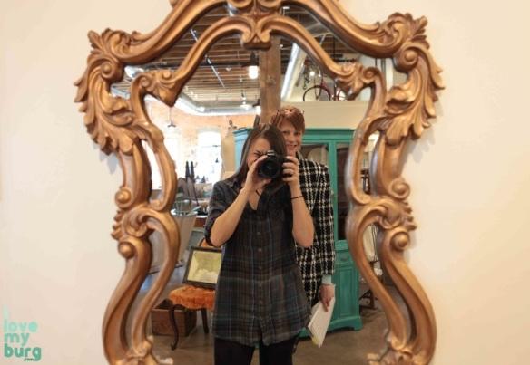 shabby love mirror