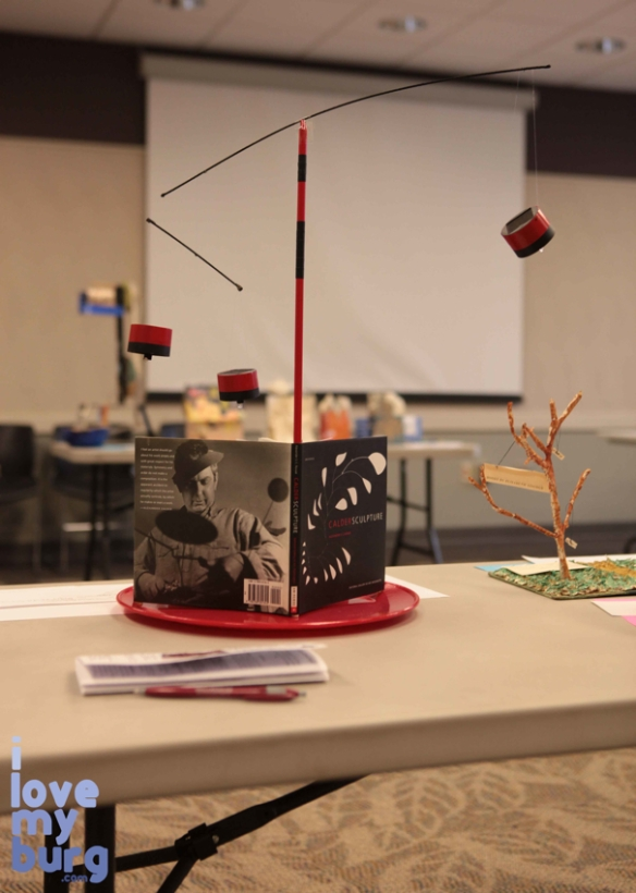 altered book mobile