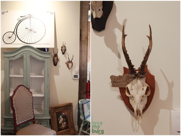 shabby love antlers
