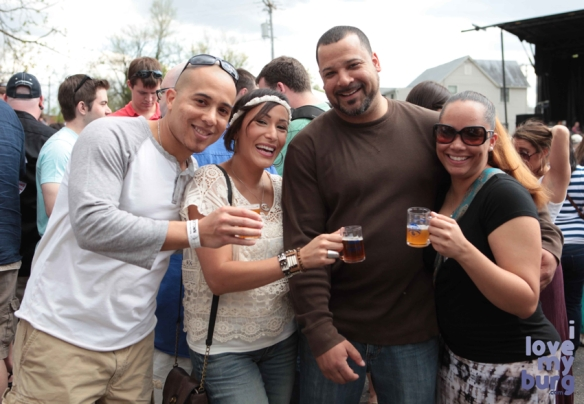 rocktown beer fest couples