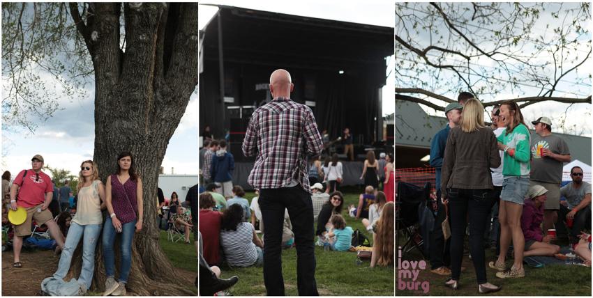 rocktown beer fest crowd collage
