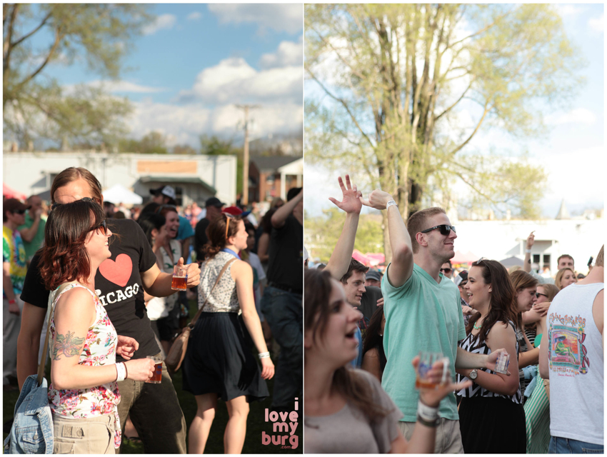 rocktown beer fest crowd collage2