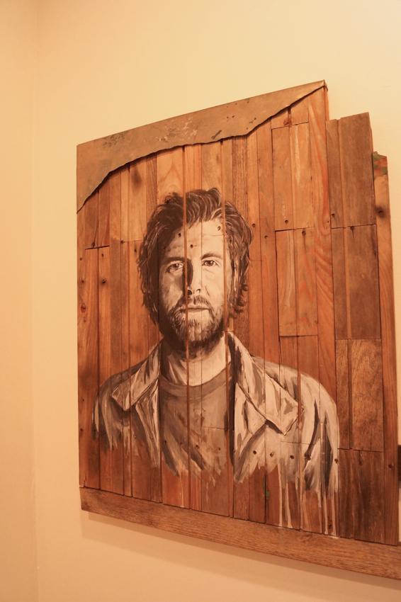Portrait of Kyle  Herr by Ben Fraits. Photo courtesy of Cara Walton.