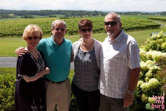 some folks we met at Barren Ridge Vineyard